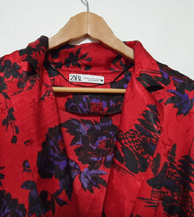 Nova Zara crvena bluza s pojasom