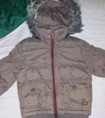 Tamno ljubicasta zimska jakna 98-104