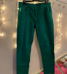 Zelene hlače - skinny leg