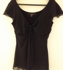 H&M svečana crna bluza