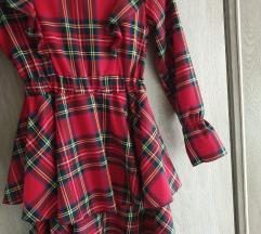 Karirana haljina ukljucena pt!⭐