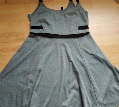 H&M siva moderna haljinica, vel. M