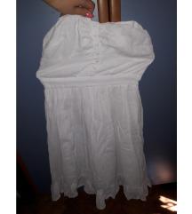 %Bijela haljinica size 10