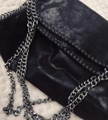 Crna torba s lancima
