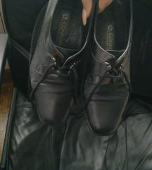 Confort crne kožne cipele