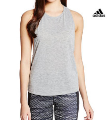 Original Adidas siva sportska majica Climalite S