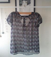 Zara bluza s kratkim rukavima