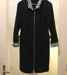crna haljina zebra