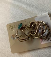Accesorize novi prsteni lot