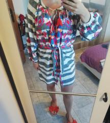 Zara haljina kardigan