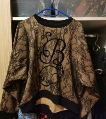 Boudoir čipkasta majica