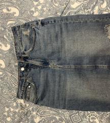 Jeans suknja h&m