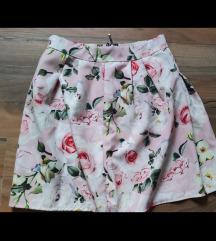Suknja cvijetna