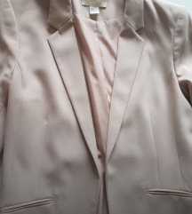H&M sako puder roze boje 38