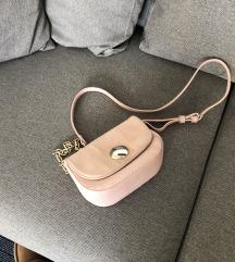 Zara Basic prljavo roza mini torbica