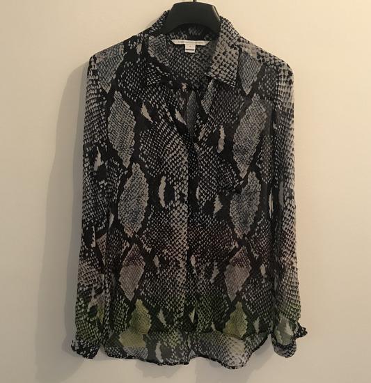 100% svila Diane von Furstenberg predivna košulja