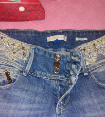 FRACOMINA jeans sa cirkonima 27 S