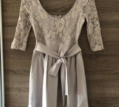 AnnChristine siva haljina