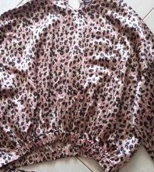 Satinirani top leopard uzorak Zara NOVO