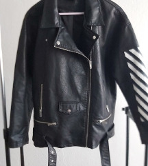 Oversized bikerska jakna
