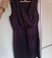 H&M ljubicasta haljina