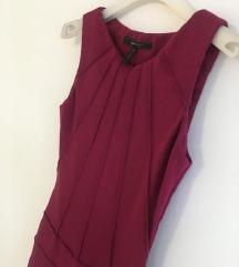 BCBG MAXAZRIA bordo haljina vel XS-S