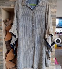 Asimetrična košulja/jaknad
