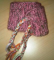 Dječji vuneni šal - ručni rad