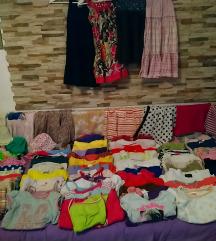 Komplet ljetne odjeće za djevojčice 116-100kom.