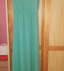Tirkizna haljina