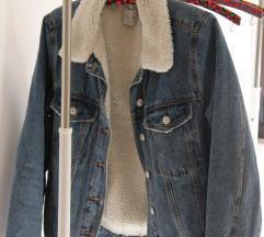 Futrana traper jakna