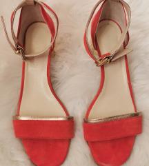 Guliver sandale narančasto zlatne