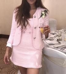 Zara haljina i sako od tvida