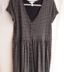 Crno-bijela H&M haljina