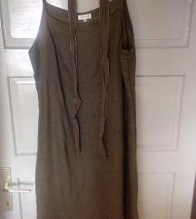 Lanena haljina i bolero (uključen Tisak)