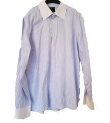 Alberto Greco plava prugasta košulja