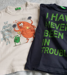 Benetton majice, vel.2 godine