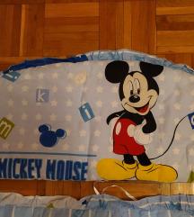 Ogradica za kinderbet Mickey Mouse