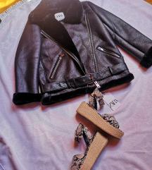motoristika jakna potfurana krznom S Zara