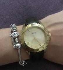 Zlatni ženski sat Guess