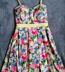Cvjetna haljina,uklj pt