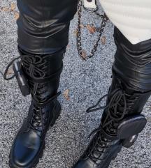 Cizme visoke crne