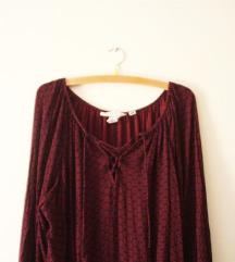 H&M boho gipsy hippie oversized bluza
