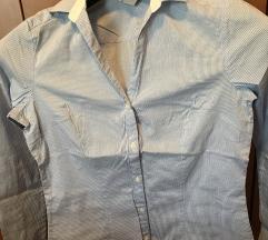 H&m strukirana košulja na prugice