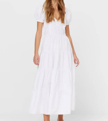 Stradivarius nova bijela haljina