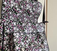 Flower print torba