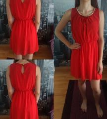 Crvena haljina, S, M