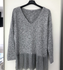ZARA oversized majica/ dzemper