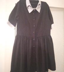 Minijaturna crna haljina 36