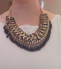Velika crna ogrlica